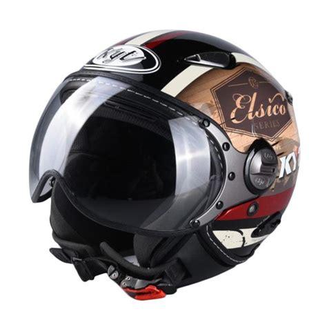 Helm Kyt Half Elsico Jual Kyt 4 Elsico Helm Half Black