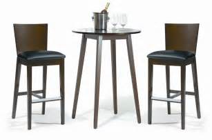 Com buy walnut black bar table set cafe 401 with 2 chairs