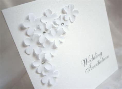 layered flowers wedding invitation personalised