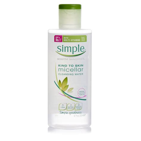 Simple Skin Detox by Simple To Skin Micellar Cleansing Water 200ml At