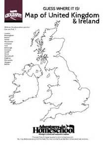 atlas blank map of britain ks2