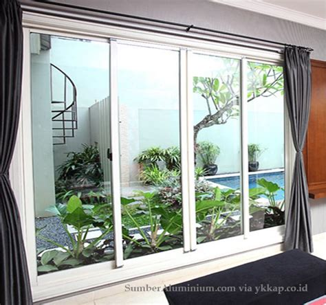 Pintu Alumunium Ykk Alexindo Alcomexindo Jakarta 10 alasan memilih kusen aluminium ykk
