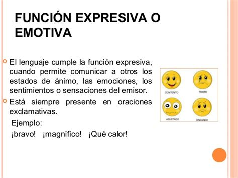 Imagenes Emotivas Ejemplos | funciones del lenguaje
