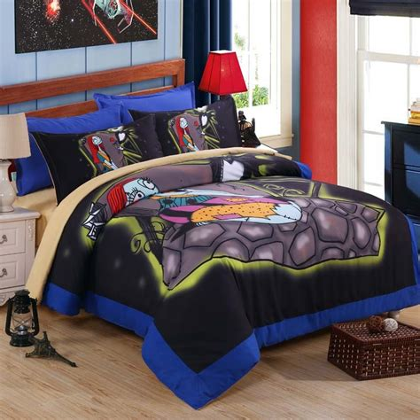 nightmare before christmas twin comforter set 3d painting printing bedding sets the nightmare before