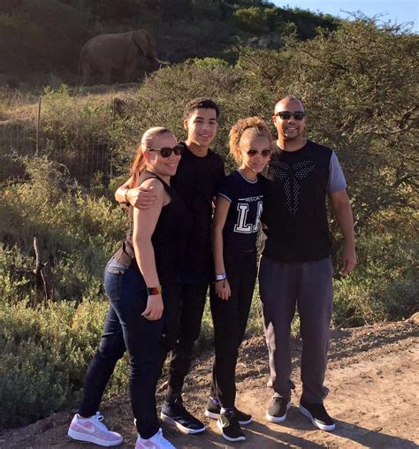 marcus scribner and his family marcus scribner helps save rhino kariega private game