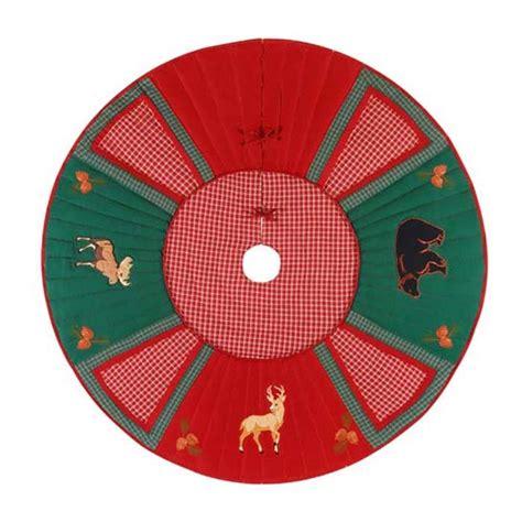 christmas lodge moose deer bear christmas tree skirt 54 quot