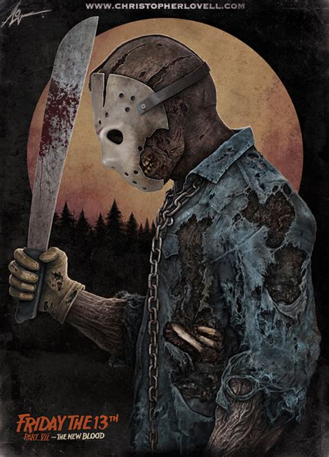 jason voorhees the new blood by lovell art on deviantart