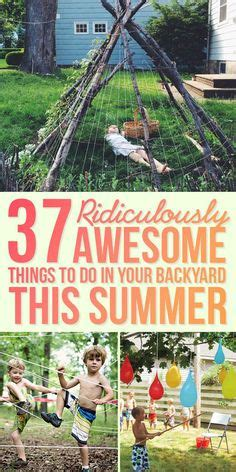things to do in your backyard diy backyard ideas for kids awesome summer and backyards