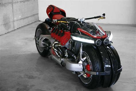 Maserati Engine by Lazareth Lm 847 Maserati Engine Powered Motorcycle