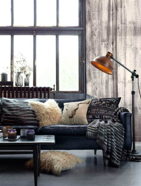 industrial decor use floor ls in your industrial style living room