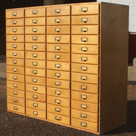 Card File Cabinet by Welcome To Metro Retro