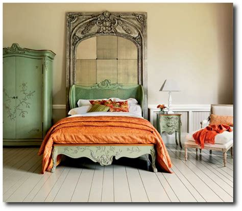 italian green painted bedroom set