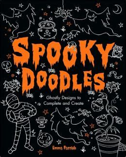 Spooky Nook Gift Cards - spooky doodles halloween designs to complete and create by emma parrish