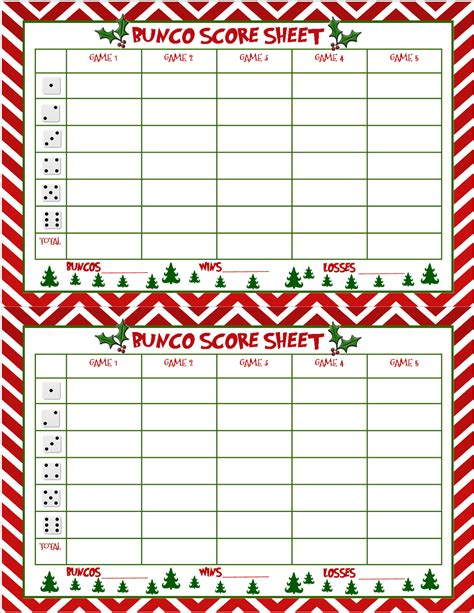 printable christmas bunco cards recipes from stephanie christmas bunco