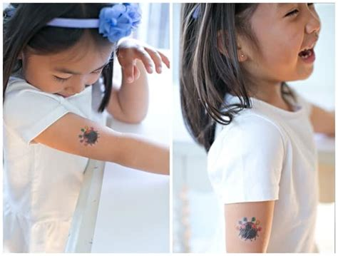how to remove kids temporary tattoos 12 remove temporary of stitch from