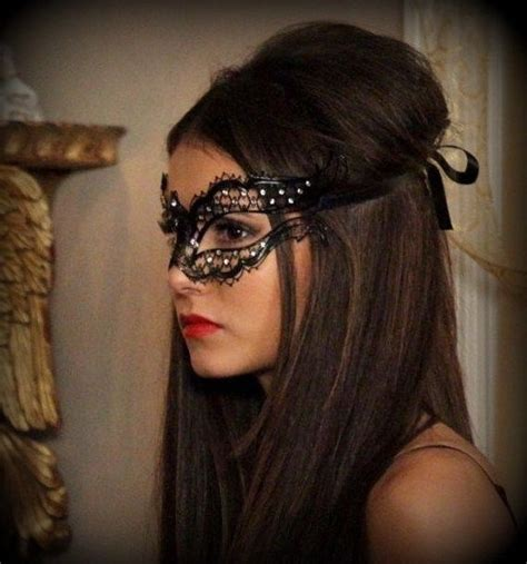 hairstyles to wear to the opera vire diaries katherine pierce masquerade mask by