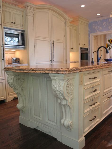 kitchen island corbels big photo database of corbels used in interiors kitchens