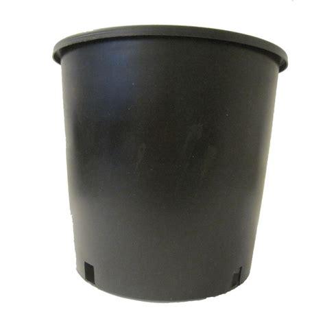 viagrow 1 2 gal plastic nursery pots 100 pack vhpp50
