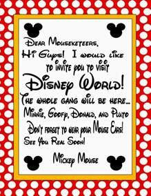 disney letter template to print the image right click on it and save it as a