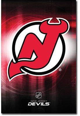 trends  jersey devils team logo poster  jersey