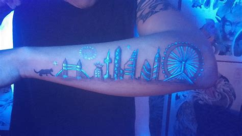 glow in the dark tattoos side effects 50 gorgeous glow in the tattoos and their possible