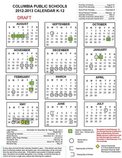 Cps Academic Calendar 2012 13 And 2013 14 Calendar Survey