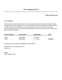 past due invoice notice invoice template ideas