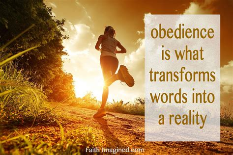 how to obedience a the power of obedience