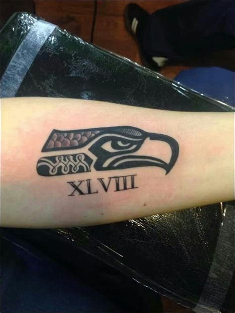 seahawks tattoo 1000 images about seahawk on beast