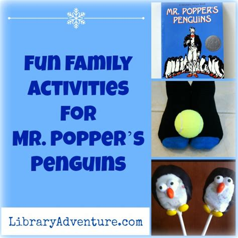 Penguins Passport Giveaway - fun family activities for mr popper s penguins