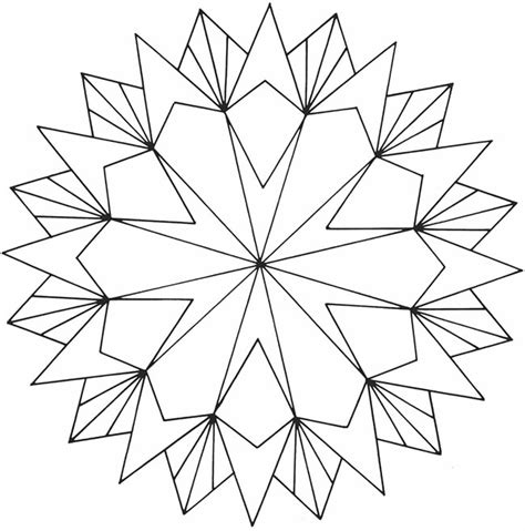geometric coloring books top free printable geometric coloring pages 22857