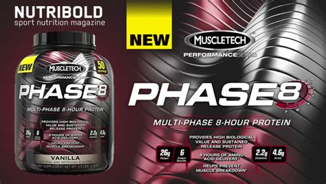 Whey Phase 8 phase8 la primera prote 237 na secuencial de muscletech