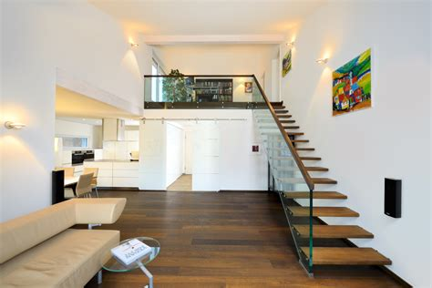 treppe im wohnzimmer offene treppe sch 246 n fein fene treppe wohnzimmer in
