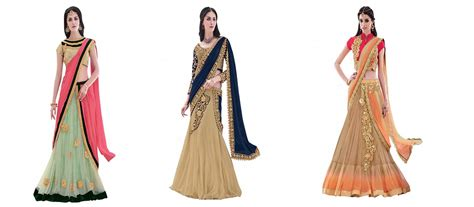 Traditional Saree Draping Styles What Is Half Saree Draping Style And Tradition
