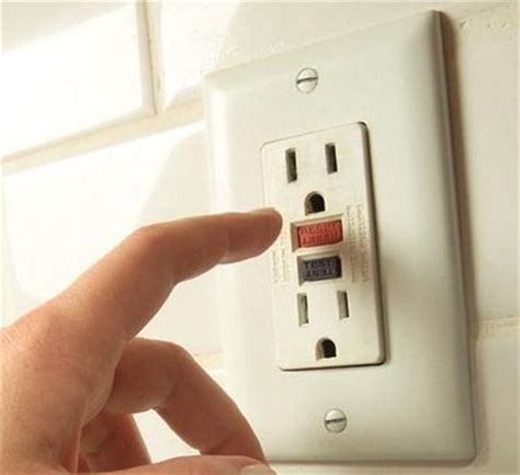 how to reset bathroom outlet electrical outlets not working check your gfci