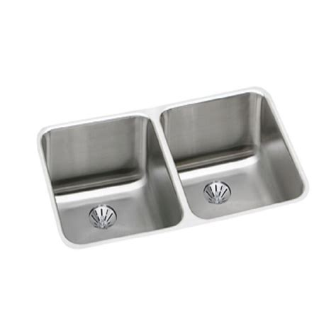 elkay stainless steel sinks houzer premiere gourmet series drop in stainless steel 33