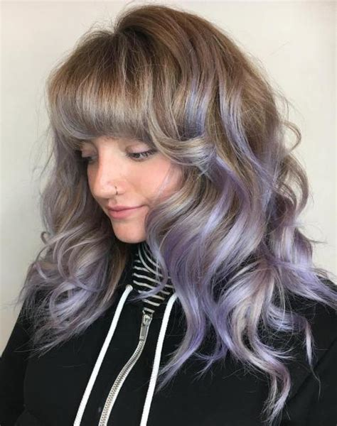 hairstyles featuring curls 40 cute styles featuring curly hair with bangs
