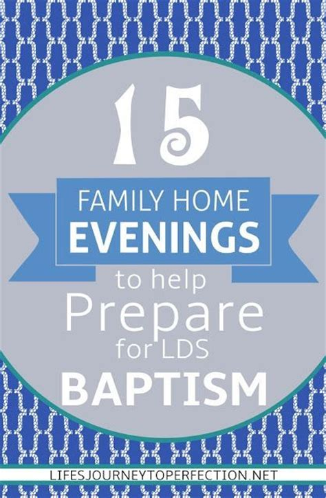 15 family home evening ideas to help prepare for lds