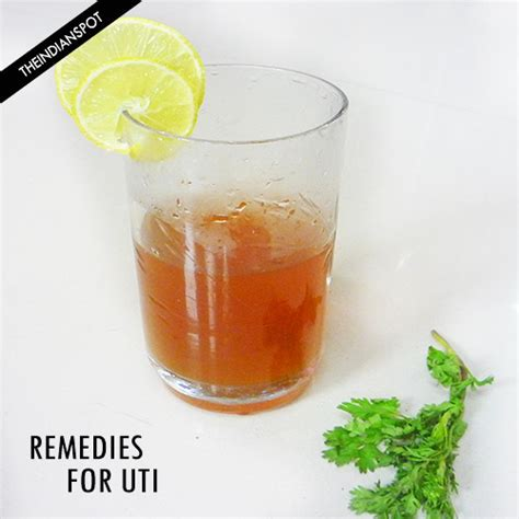 home remedies for uti and discomfort