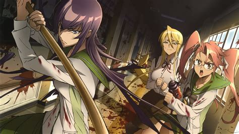 highschool of the dead highschool of the dead tv fanart fanart tv