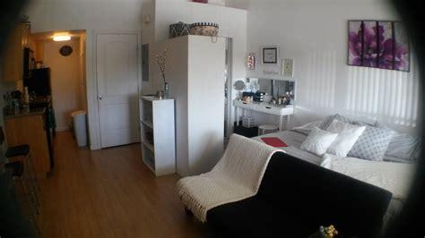 studio apartment tour 400 sq ft