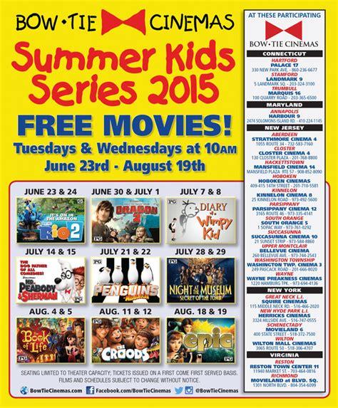 summer series events bow tie cinemas