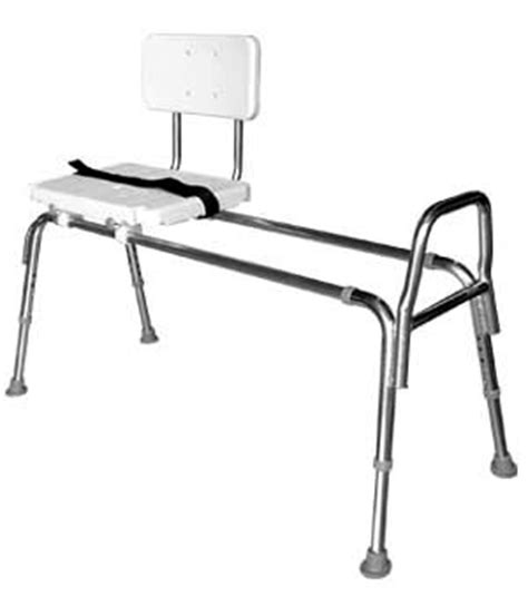Sliding Shower Chairs For Elderly by Snap N Save Sliding Transfer Bench