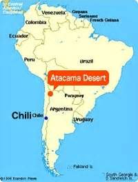 atacama desert map atacama desert in world map brainly in