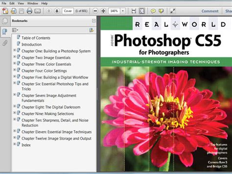 tutorial photoshop cs5 extended pdf photoshop cs5 for photographers ebook file software