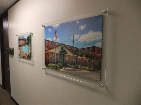 Clear acrylic wall frames into the glass acrylic wall frames ideas