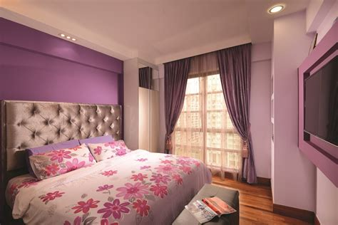light purple master bedroom