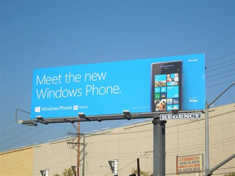 meet the new windows phone 8 reinvented around you microsoft ad daily billboard november 2012 advertising for movies tv
