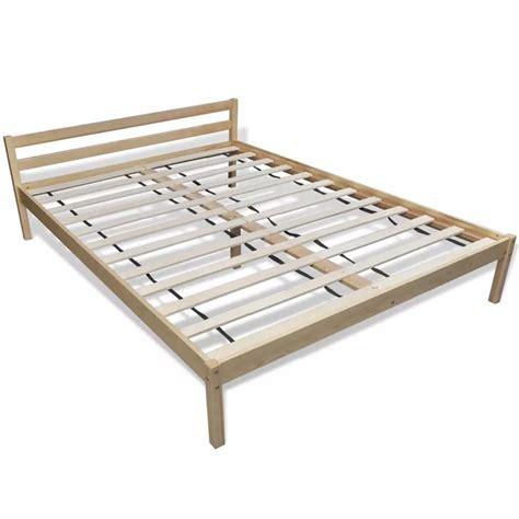Matras Bed No 3 bed dennenhout 200 x 140 cm met matras kopen