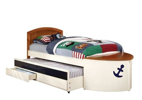 boat shaped childrens bed a boat shaped bed create an experience with decor